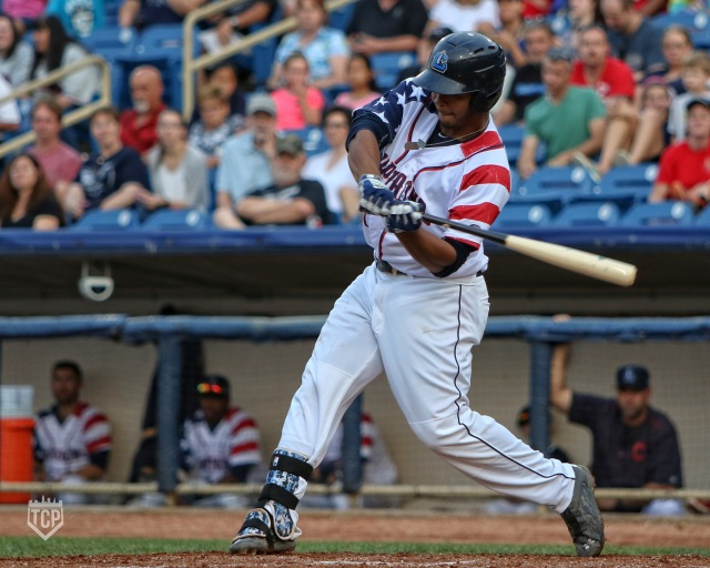 Lake County Captains 1B Bobby Bradley (Photo by Tim Phillis/TCP Photography)