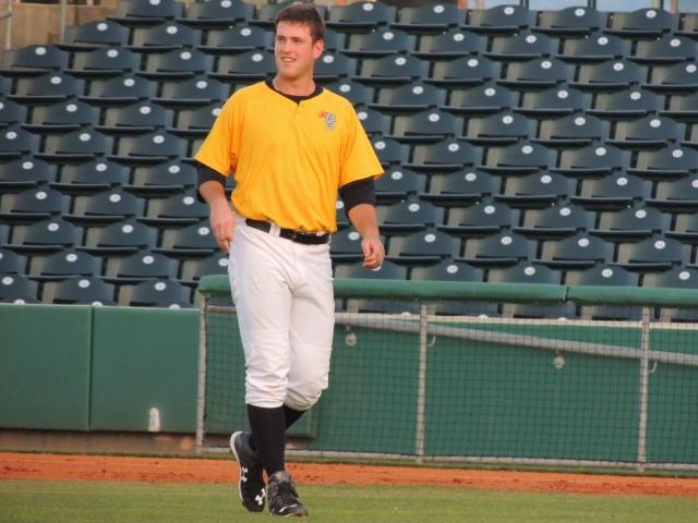 Tampa Bay Rays prospect Casey Gillaspie (Photo by Craig Wieczorkiewicz/The Midwest League Traveler)