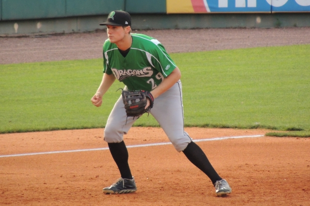 Dayton Dragons 3B Gavin LaValley went 3-for-5 with a home run.