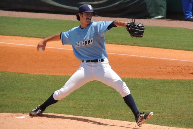 Bowling Green Hot Rods RHP Hunter Wood