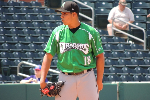 Dayton Dragons LHP Junior Morillo