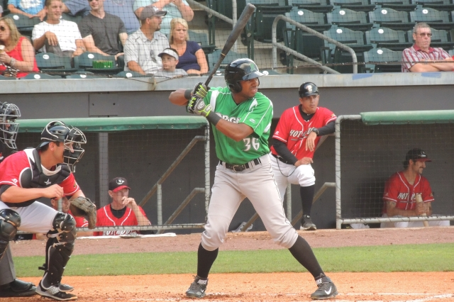 Dayton Dragons LF Narciso Crook went 2-for-5 with a two-run double Saturday.