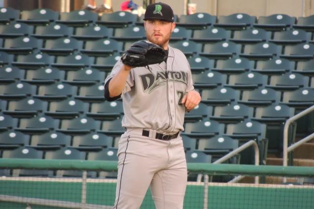 Dayton Dragons LHP Seth Varner