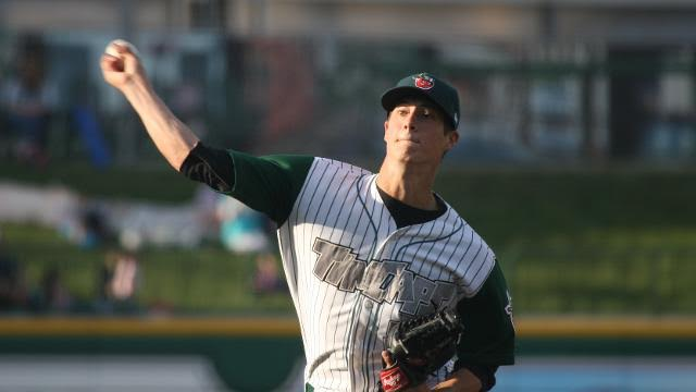 Matt Wisler pitched for the Fort Wayne TinCaps in 2012. (Photo courtesy of the TinCaps)