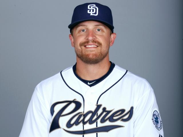 San Diego Padres catcher Tim Federowicz
