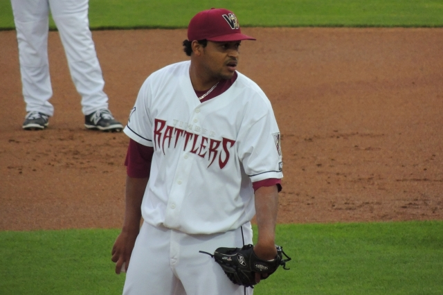 Wisconsin Timber Rattlers RHP Angel Ventura
