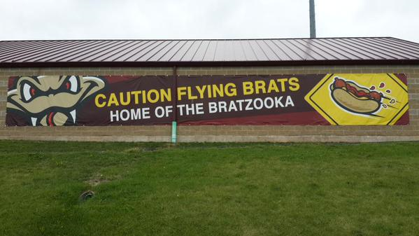 Bratzooka sign