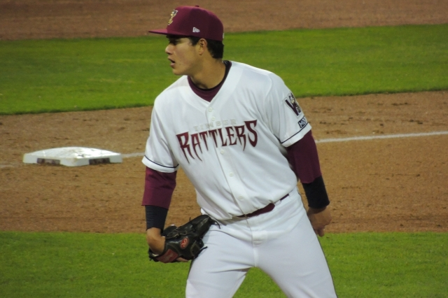 Wisconsin Timber Rattlers LHP Kodi Medeiros