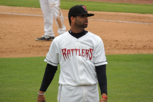 Wisconsin Timber Rattlers 3B Sthervin Matos went 3-for-3 with a double and a RBI sac fly in his team's 6-3 win Tuesday.