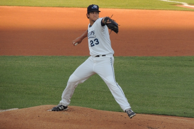 West Michigan Whitecaps RHP A.J. Ladwig