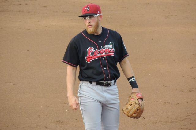 Great Lakes Loons 3B Matt Beaty