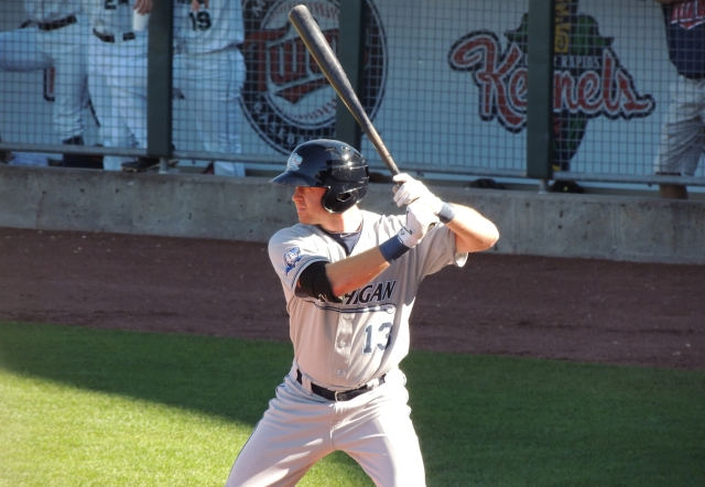 West Michigan Whitecaps RF Mike Gerber
