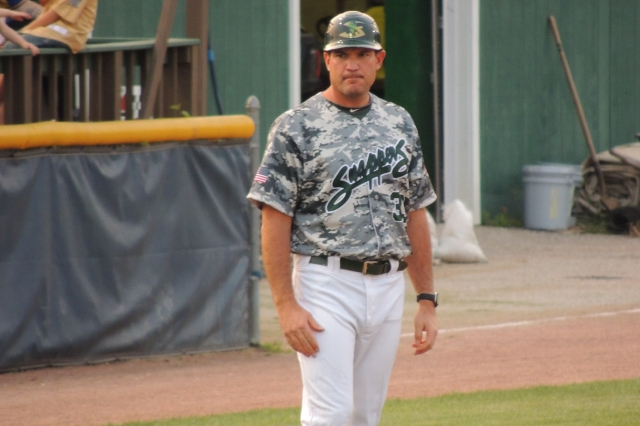 Beloit Snappers manager Fran Riordan (Photo by Craig Wieczorkiewicz/The Midwest League Traveler)