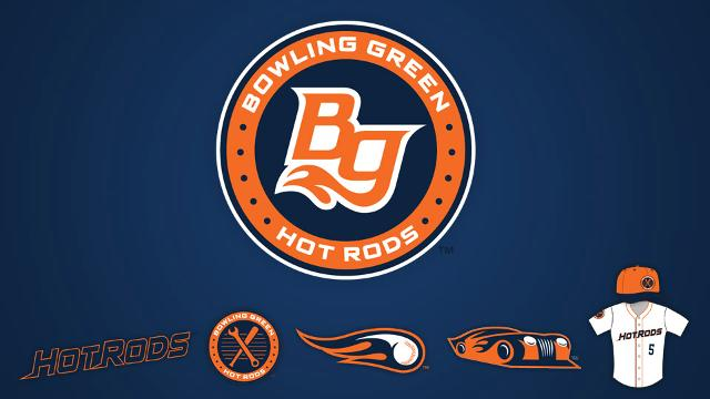 The new Bowling Green Hot Rods logos unveiled Thursday evening.