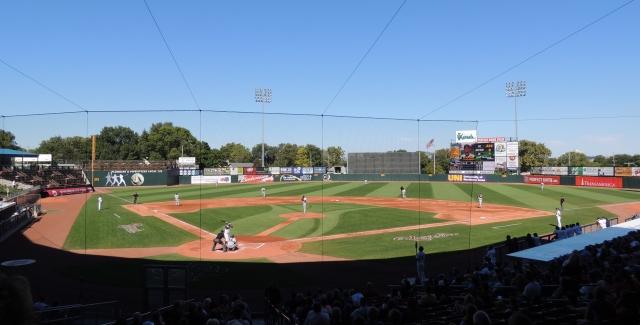 Perfect Game Field at Veterans Memorial Stadium