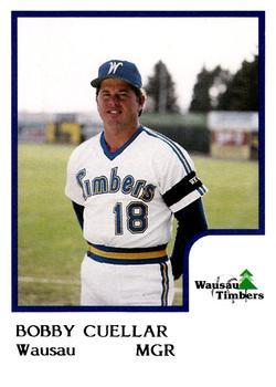 Bobby Cuellar Wausau MGR 1986