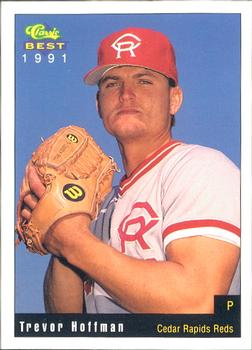 Trevor Hoffman 1991 CR Reds card