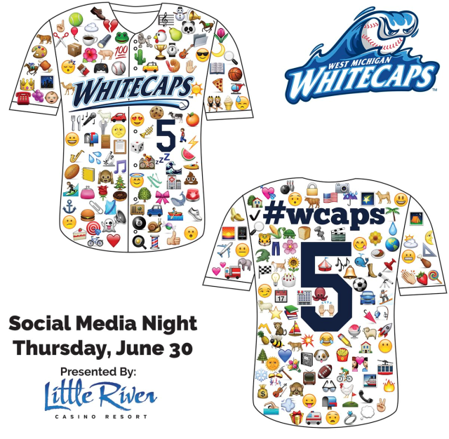 Whitecaps emoji jersey