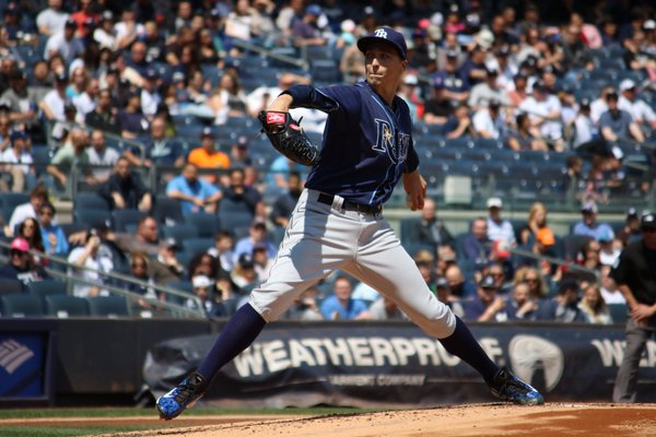 Top Rays prospect Blake Snell made his MLB debut for Tampa Bay on Saturday. (Photo courtesy of the Rays)