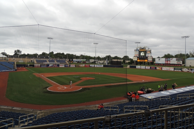 The Lake County Captains play their home games at Classic Park, seen here during my 2014 visit to the venue. (Photo by Craig Wieczorkiewicz/The Midwest League Traveler)