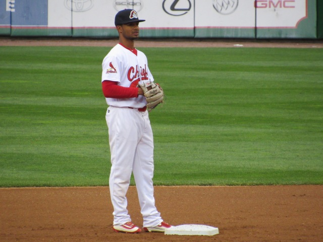 Peoria Chiefs 2B Eliezer Alvarez drove in two runs Saturday.