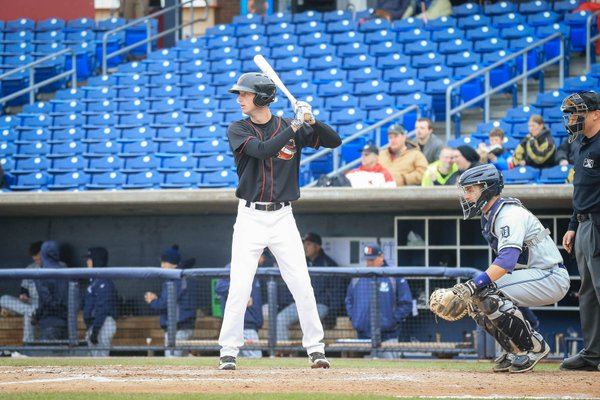 Kyle Tucker bats for the Quad Cities River Bandits earlier this season. (Photo by Rich Guill)