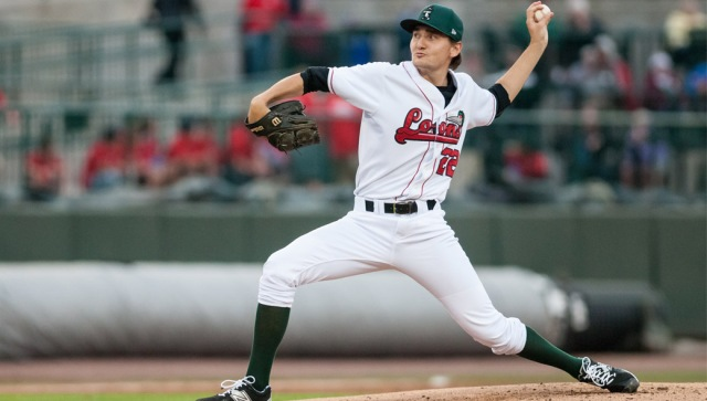Great Lakes Loons LHP Michael Boyle is the Midwest League Pitcher of the Week. (Photo by Amanda Ray/Great Lakes Loons)