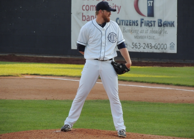 LumberKings SP Zack Littell gave up four runs and struck out seven in six innings Thursday.
