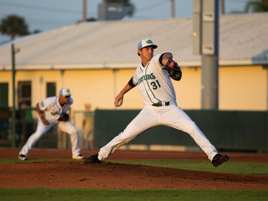 Cincinnati Reds prospect Tyler Mahle pitched a no-hitter for the Daytona Tortugas on Monday. (Photo by Aldrin Capulong