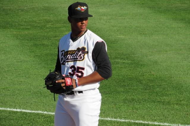 Quad Cities River Bandits RHP Albert Abreu