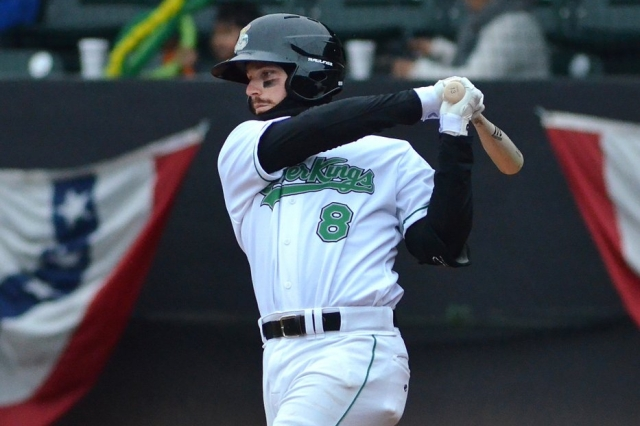 Seattle Mariners prospect Conner Hale is the Midwest League offensive player of the week. (Photo courtesy of the Clinton LumberKings)