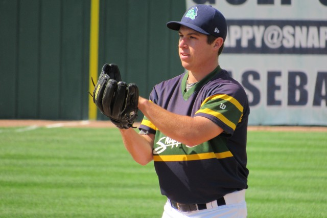 Beloit Snappers LHP Evan Manarino