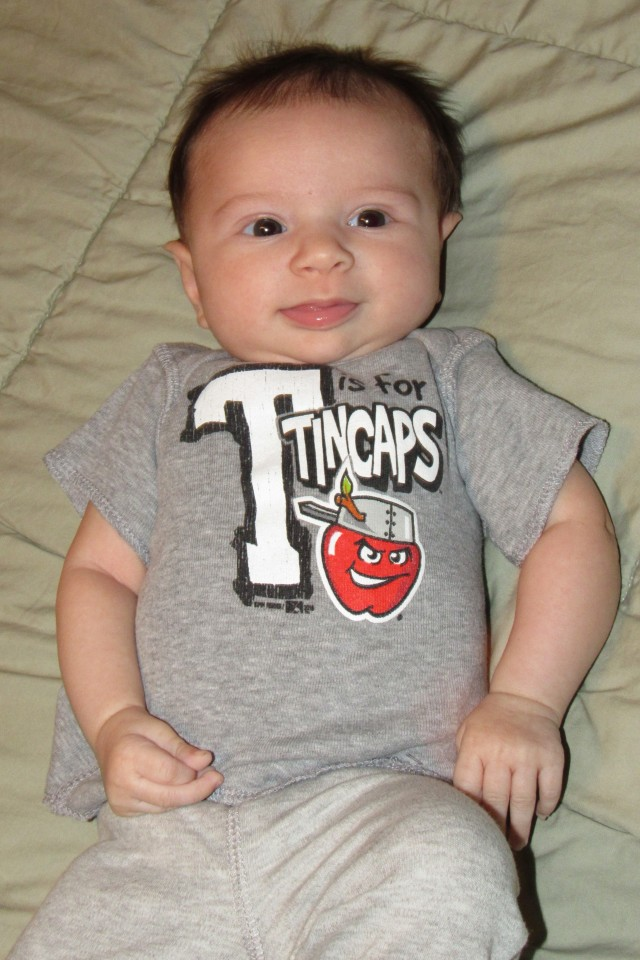MWLbaby in TinCaps shirt
