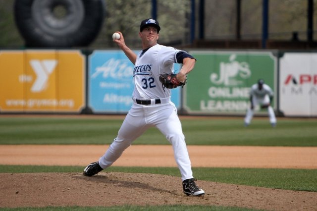 Detroit Tigers prospect Kyle Dowdy (Photo courtesy of the West Michigan Whitecaps)