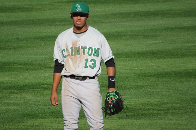 Clinton LumberKings shortstop Rayder Ascanio