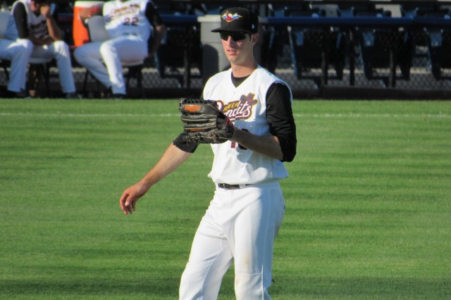 Quad Cities River Bandits outfielder Kyle Tucker (Photo by Craig Wieczorkiewicz/The Midwest League Traveler)