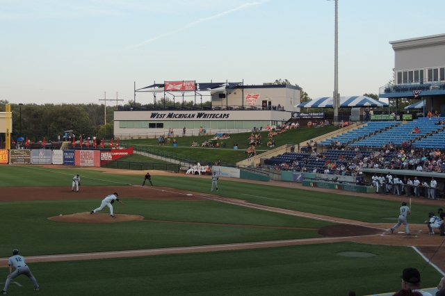Fifth Third Ballpark during the 2015 Midwest League Championship Series (Photo by Craig Wieczorkiewicz/The Midwest League Traveler)