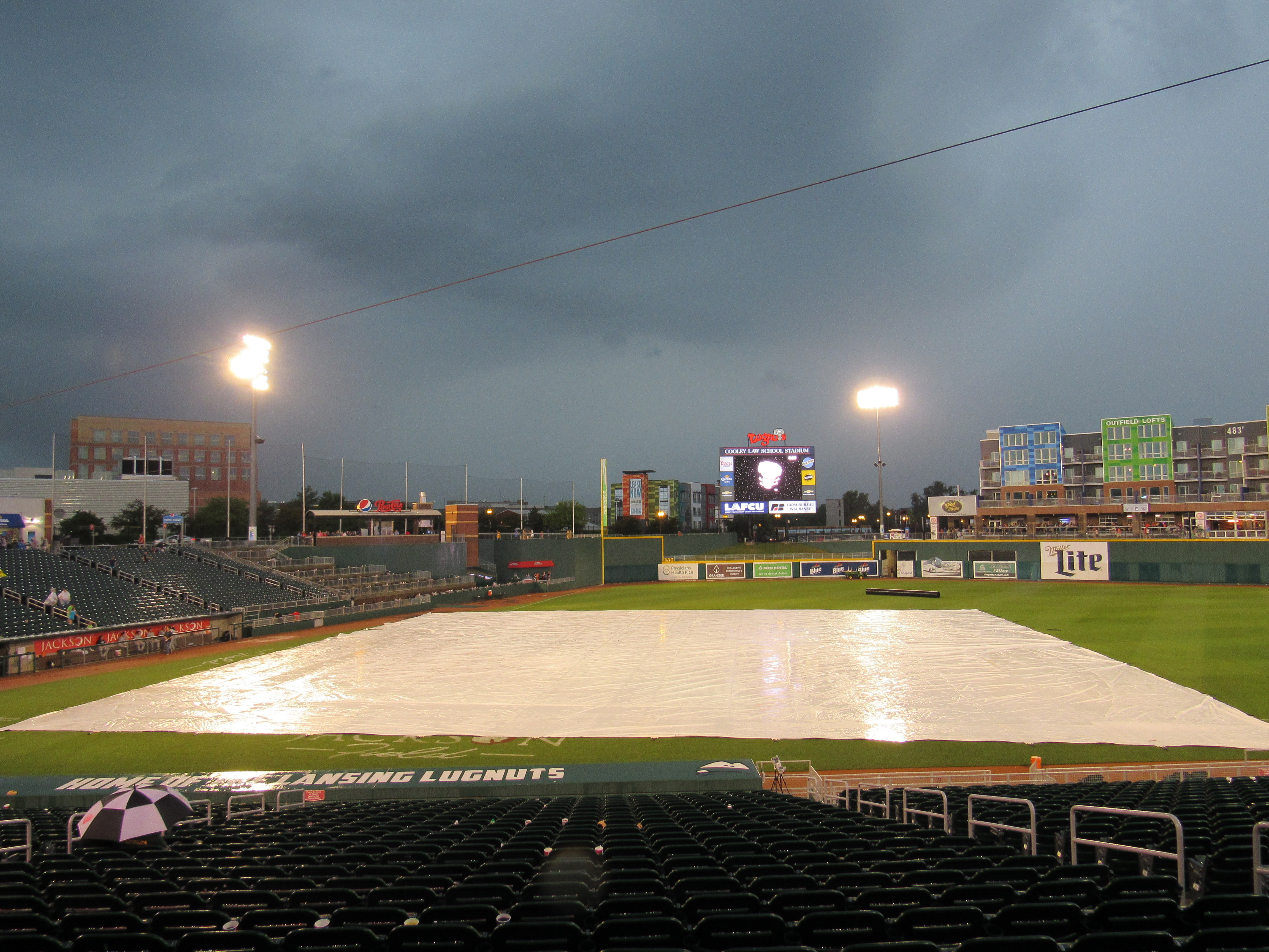 Lugnuts Whitecaps Game Cancelled Due To Rain The Midwest